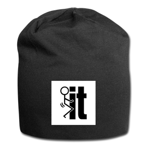 F It Beanie - black