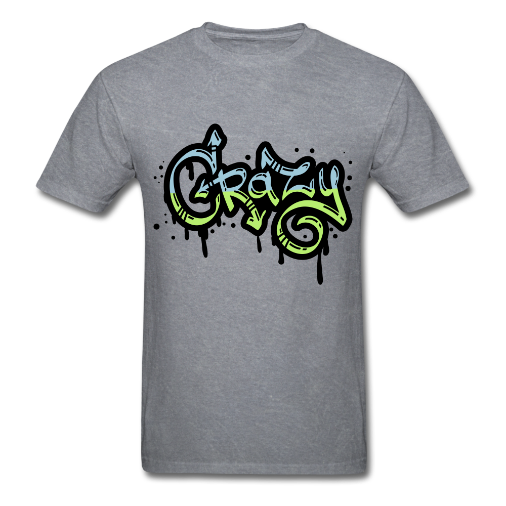Crazy Tee - mineral charcoal gray