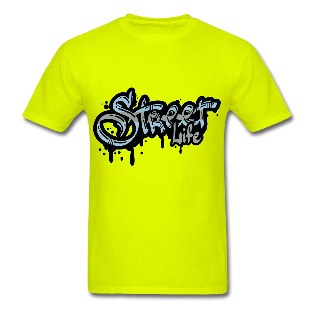Street Tee - safety green
