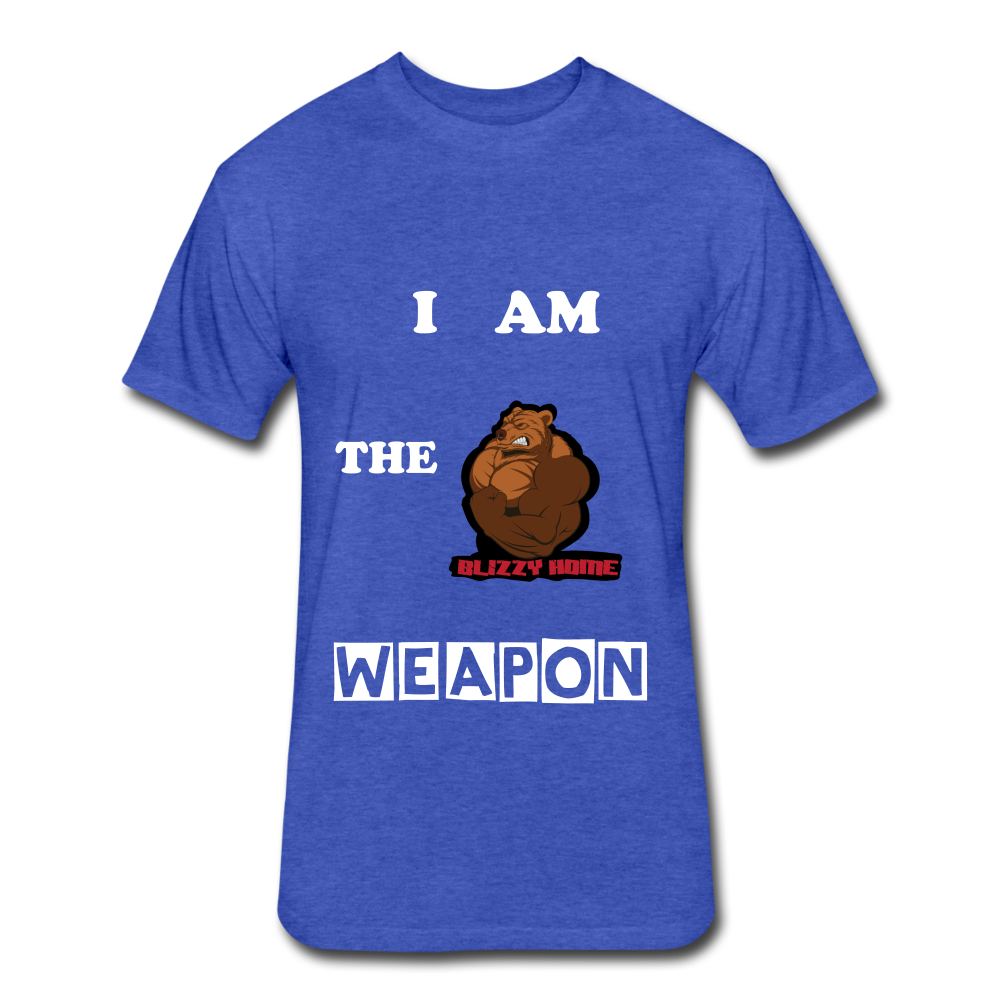 I am the weapon. - heather royal