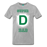 SUPRER DAD - heather gray