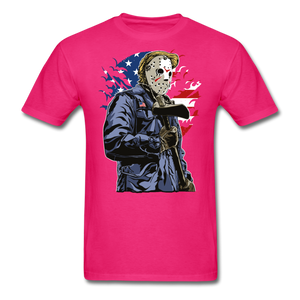 Trump Killer Tee - fuchsia