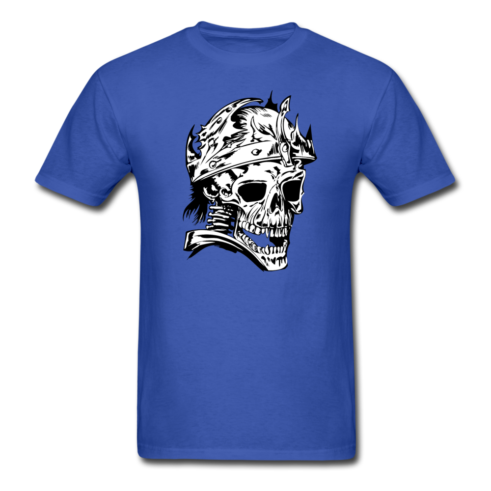 King Skull Tee - royal blue