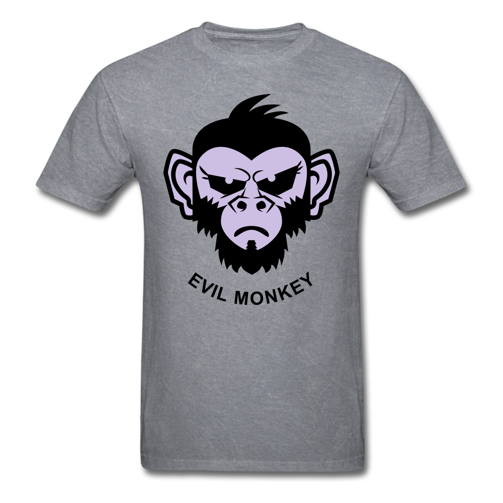 Monkey Tee - mineral charcoal gray