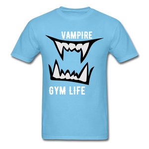 Vamp Gym Tee - aquatic blue
