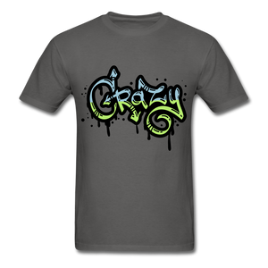 Crazy Tee - charcoal