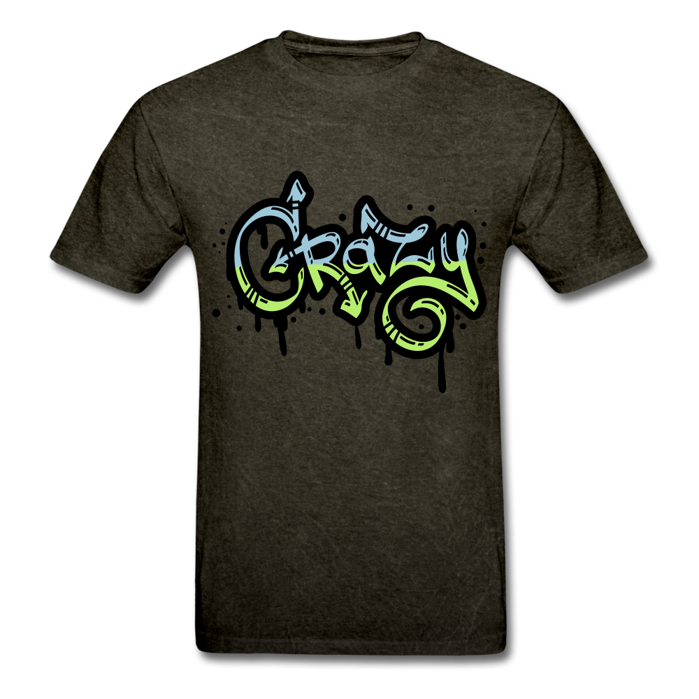 Crazy Tee - mineral black