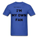 My Own Fan - royal blue