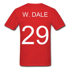 W. Dale Tee - red