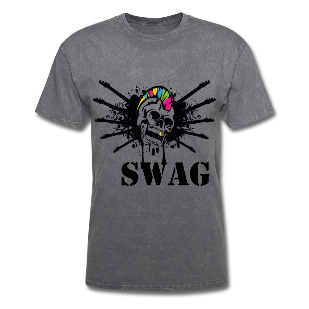 Swag Tee - mineral charcoal gray