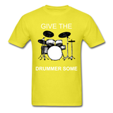 Drummer Tee - yellow
