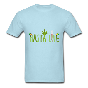 Rasta Life - powder blue
