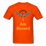 I Am Blessed Tee - orange