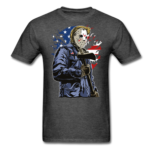 Trump Killer Tee - heather black