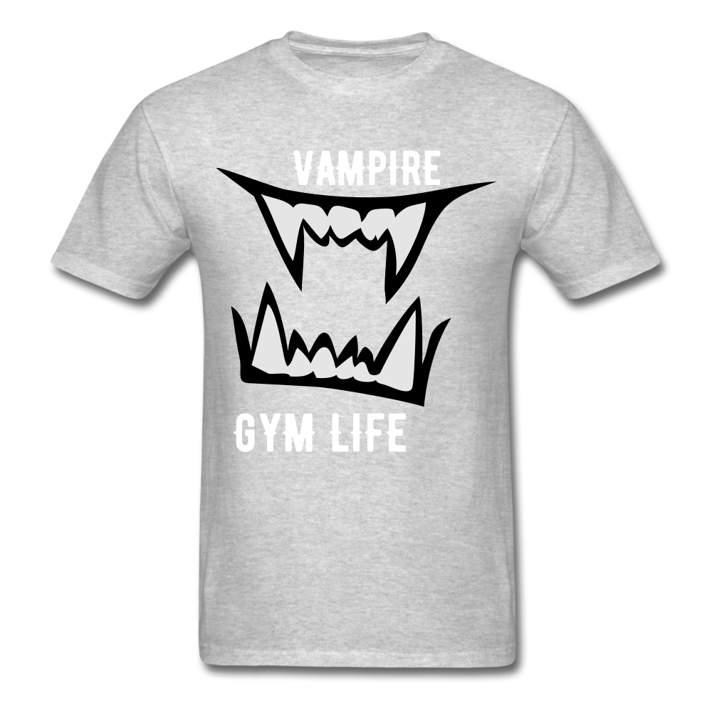 Vamp Gym Tee - heather gray