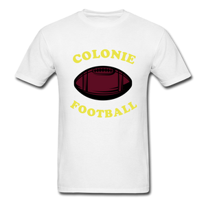 Colonie Football Tee - white