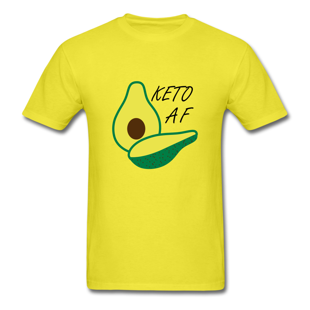 Keto Tee - yellow
