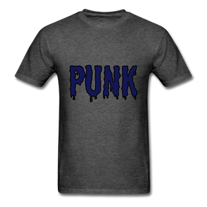 Punk Tee - heather black