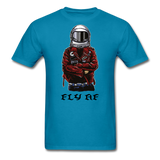 Fly Tee - turquoise