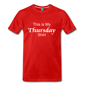 Thursday Shirt - red