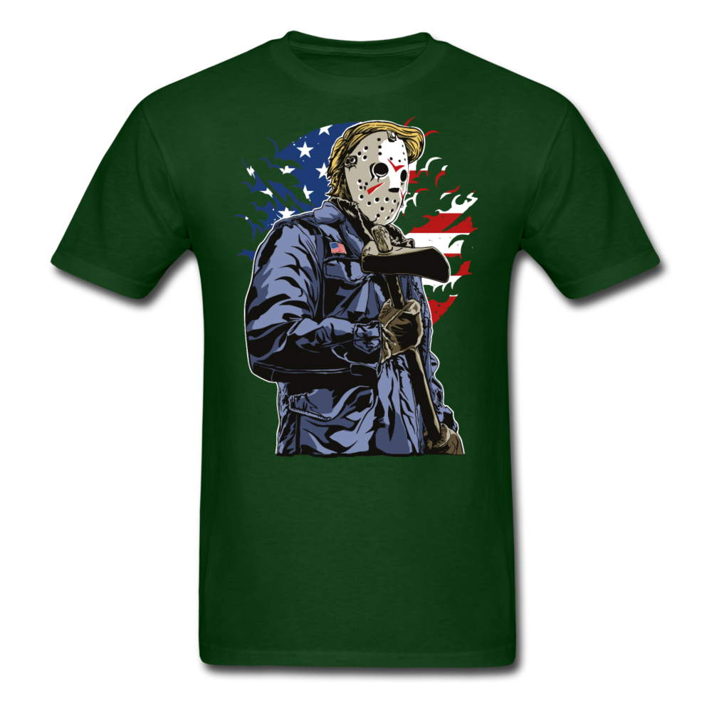 Trump Killer Tee - forest green