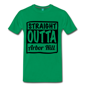 Stright outta Arbor Hill - kelly green