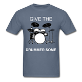 Drummer Tee - denim