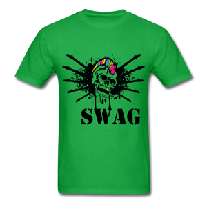 Swag Tee - bright green