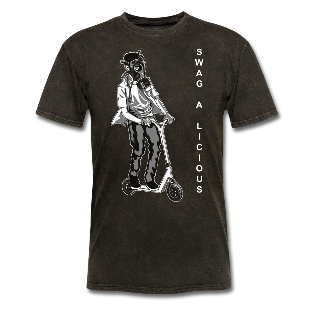 Swag-A-Licious Tee - mineral black