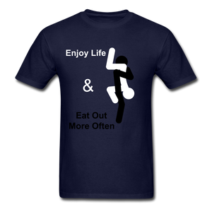 Eat Out Tee - navy
