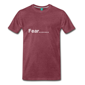 Fear - heather burgundy