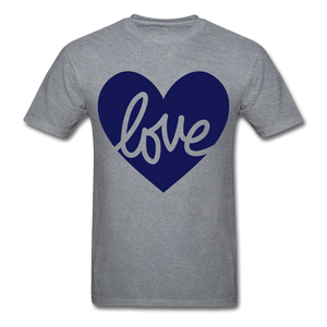 Love Tee. - mineral charcoal gray