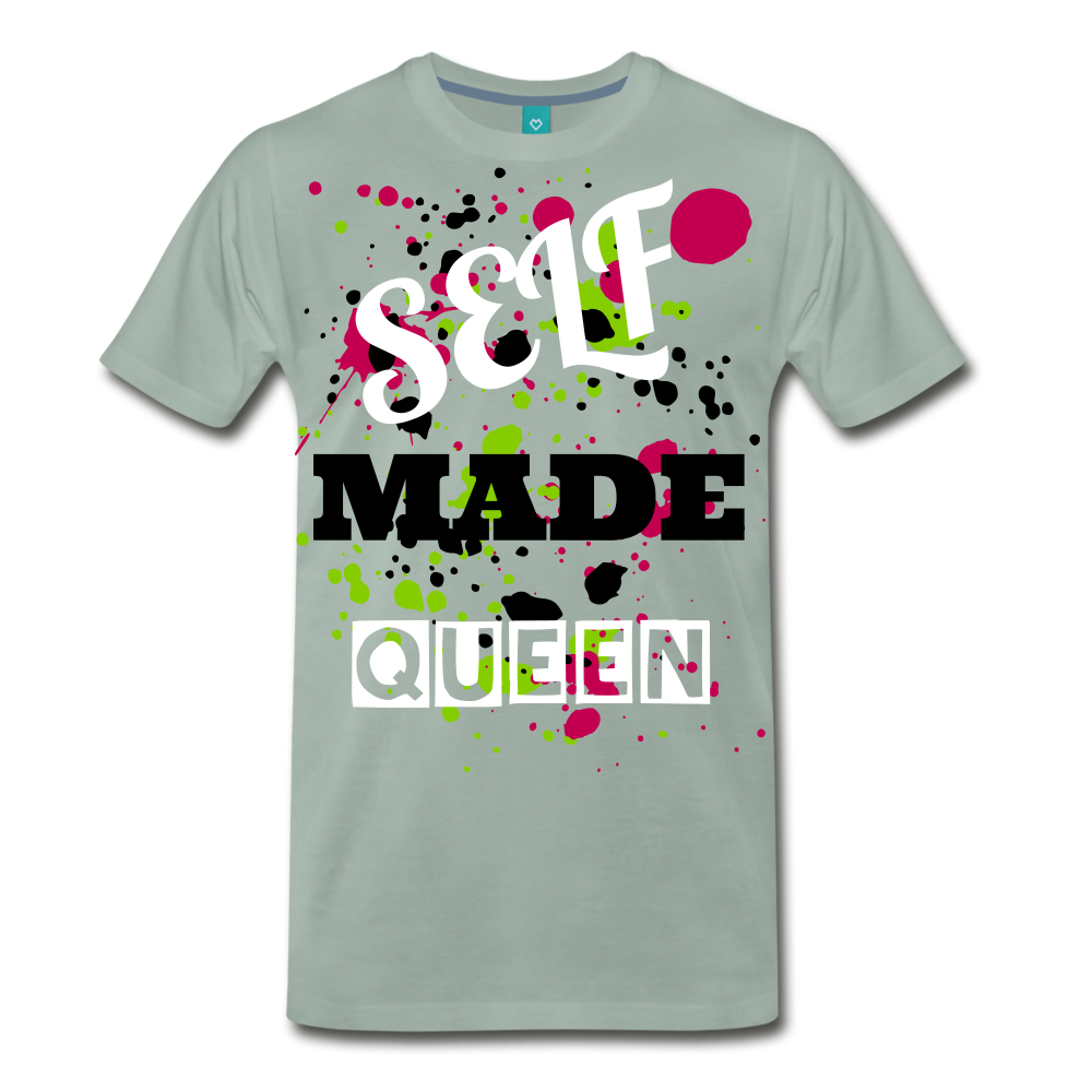 Self Made Queen - steel green
