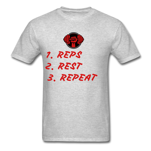 Rep's Tee - heather gray