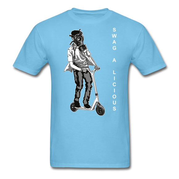 Swag-A-Licious Tee - aquatic blue
