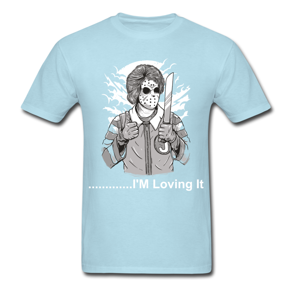 Loving it Tee - powder blue