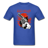 Kill Tee - royal blue