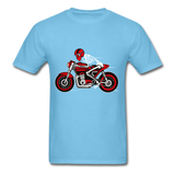 Rider Tee - aquatic blue