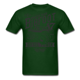 Big Foot Tee - forest green