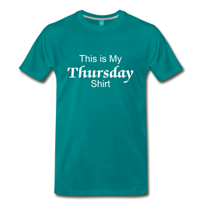 Thursday Shirt - teal