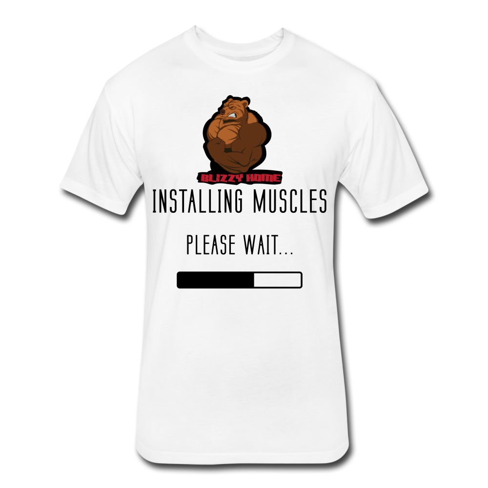 Installing Muscles Tee - white