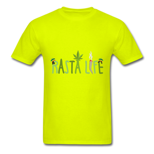 Rasta Life - safety green
