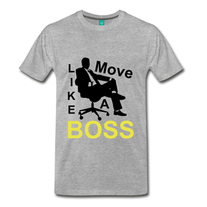 Move Like A Boss - heather gray
