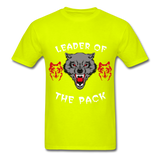 Wolpack Tee - safety green