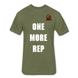 One More Rep Tee - heather military green