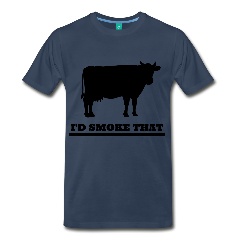 I'd Smoke That Beef - navy