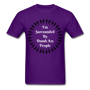 Dumb Ass Tee - purple