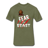 Fear The Beast - heather military green