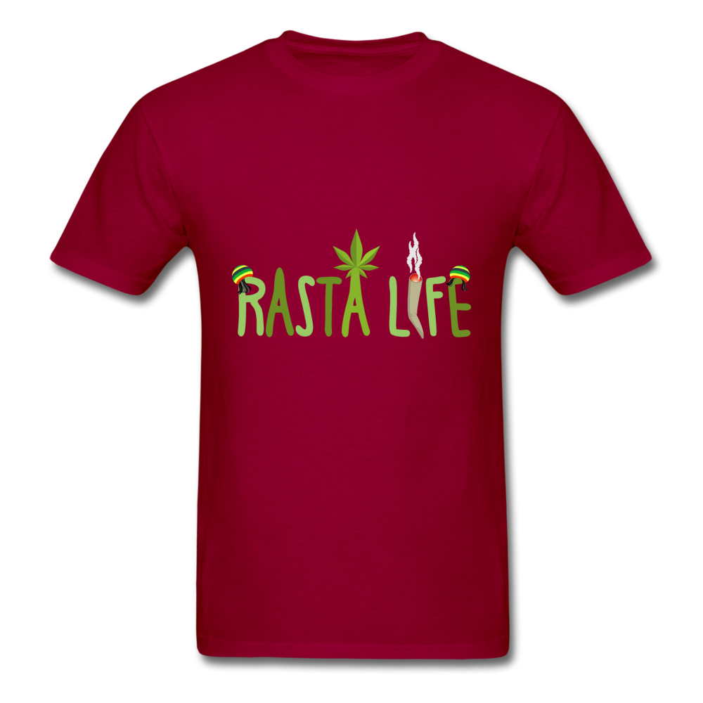 Rasta Life - dark red