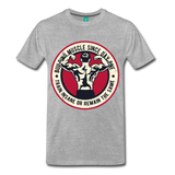 Muscle Tee. - heather gray